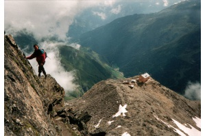 Skialpy v Ötztalských Alpách