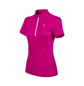 Dámské triko MONTURA OUTDOOR TRAIL ZIP T-SHIRT WOMAN
